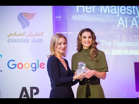 Queen Rania's speech at the Foreign Press Association Media Awards