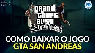 Como baixar e INSTALAR o jogo GTA San Andreas  (Sem programas)