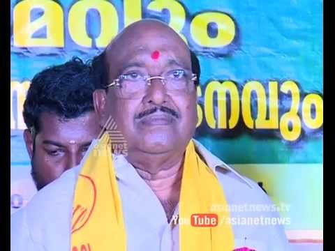 Vellapally's political Party ,BJP SNDP alliance |Cover Story 6 Oct 2015