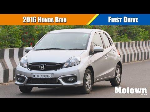 2016 Honda Brio   First Drive   Motown India