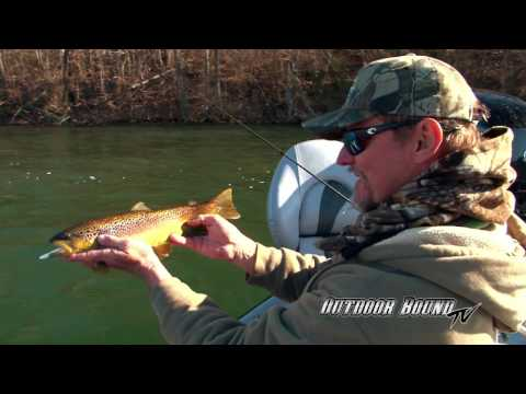 Outdoor Bound TV -  Arkansas White River Brown Trout EP110