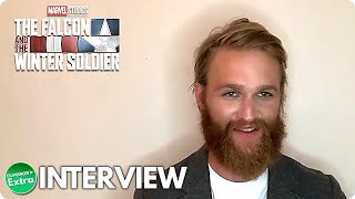 THE FALCON AND THE WINTER SOLDIER   Wyatt Russell Official Interview