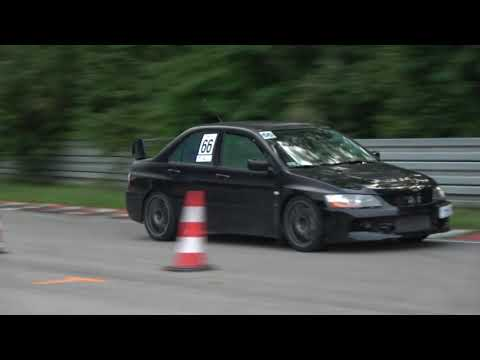 Skłodowski Artur  Mitsubishi Lancer EVO IX IV Eliminacja Interia DRIVE CUP Tor Kielce 07-09-2019