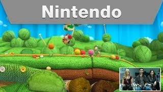 Nintendo Treehouse: Live @ E3 2014 -- Day 2: Yoshi\'s Woolly World