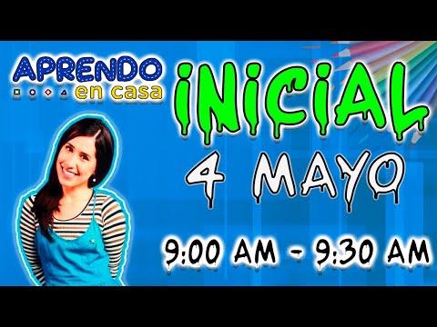 APRENDO EN CASA 4 DE MAYO INICIAL-TV PERU EN VIVO HOY MARTES 2021 FULL HD 1080 60 fps