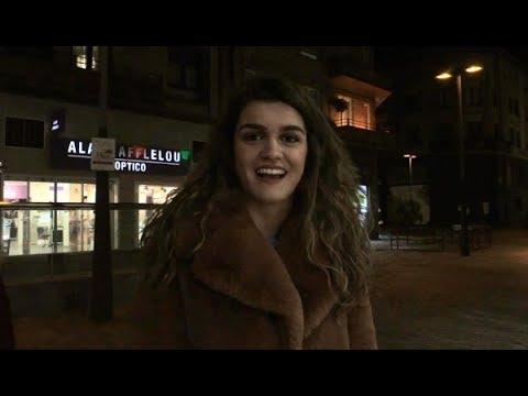 Amaia, de 'OT', así es la primera vez que sale a la calle tras ganar 'OT' | DIEZ MINUTOS