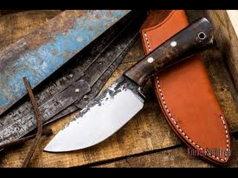 Making a Custom Knife, Bar to Brute, With Lon Humphrey