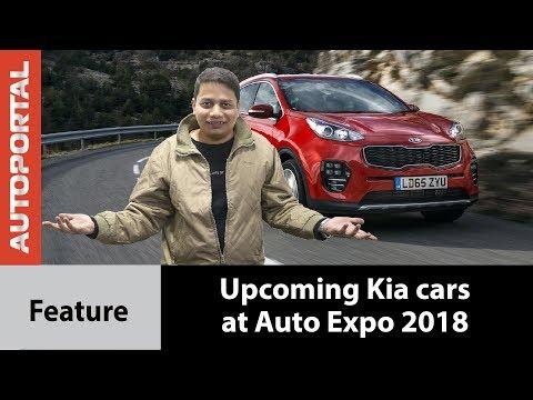 Upcoming Kia Cars at Auto Expo 2018