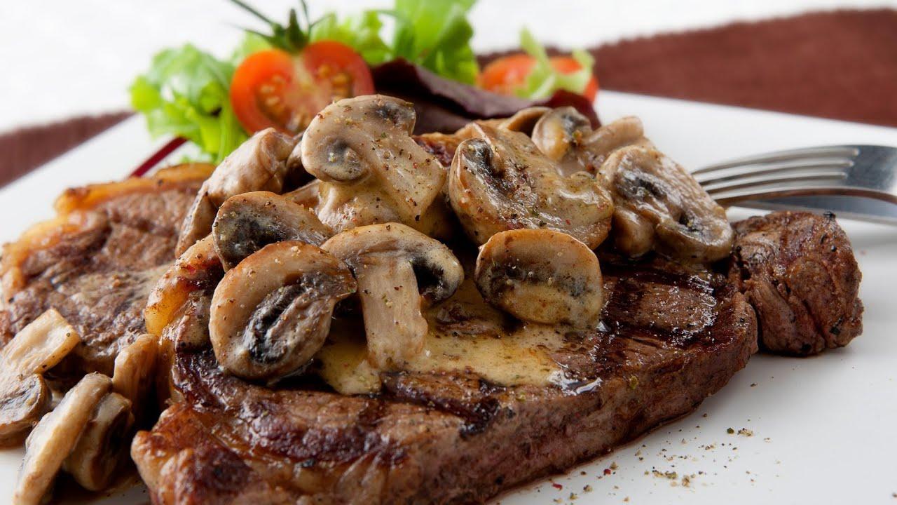 recipe: flank steak with mushroom ragout [6]