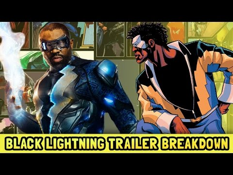 Black Lightning Official Trailer and Easter Eggs Explained