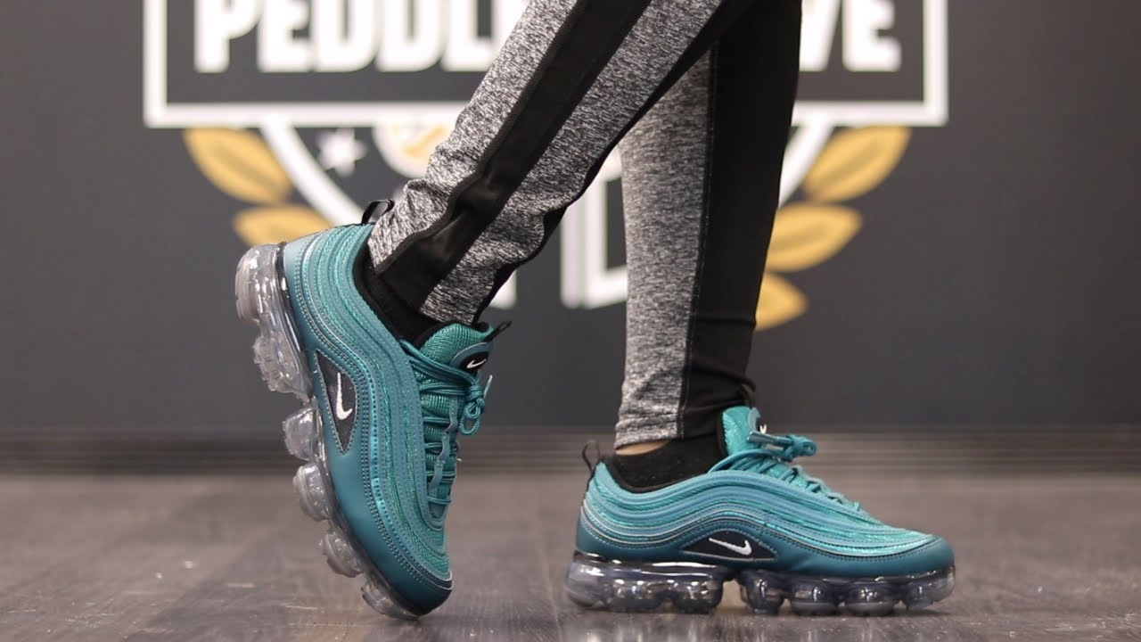 0f40fa8d1a1f NIKE AIR VAPORMAX 97 DARK SEA + ON FEET - YouTube