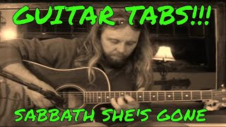 Black Sabbath She's Gone Chord/Melody Cover
