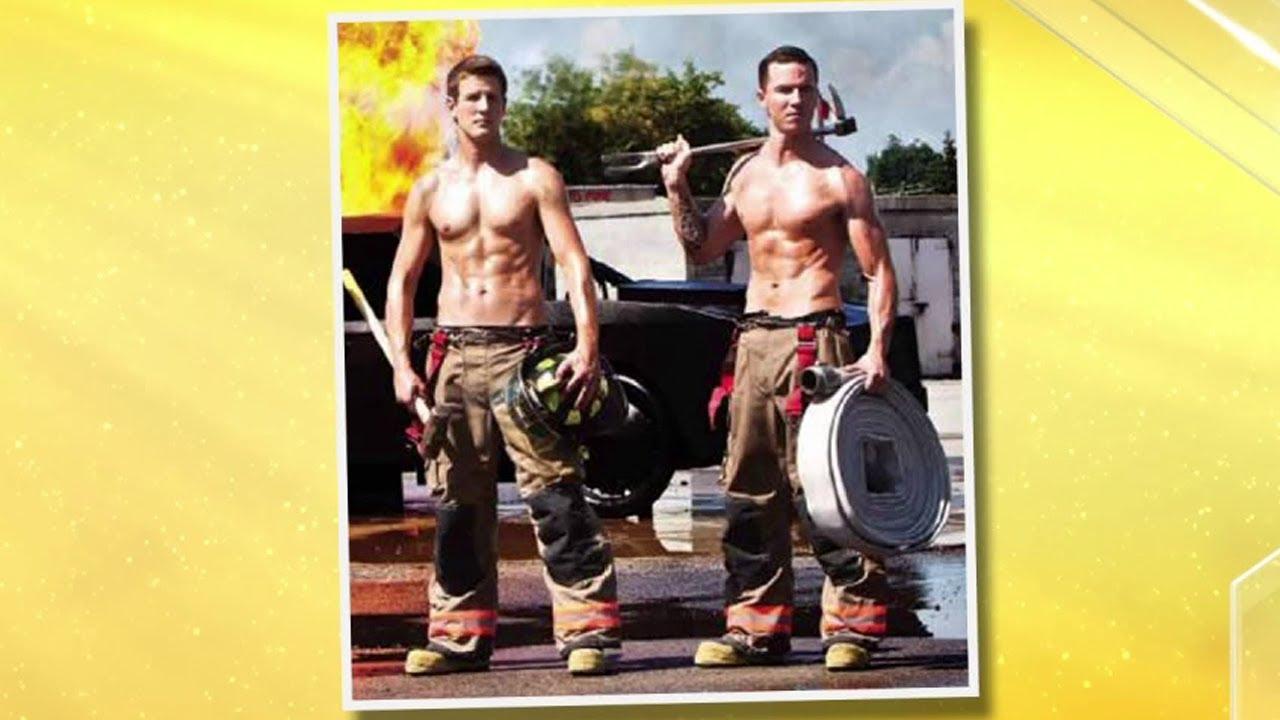 Meet the stars of Toronto's 2013 Firefighter calendar - YouTube