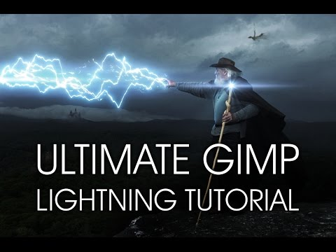 Gimp Tutorial: How To Make Lightning