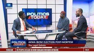 A. Ibom Election Post Mortem: APC, PDP Trade Words |Politics Today|