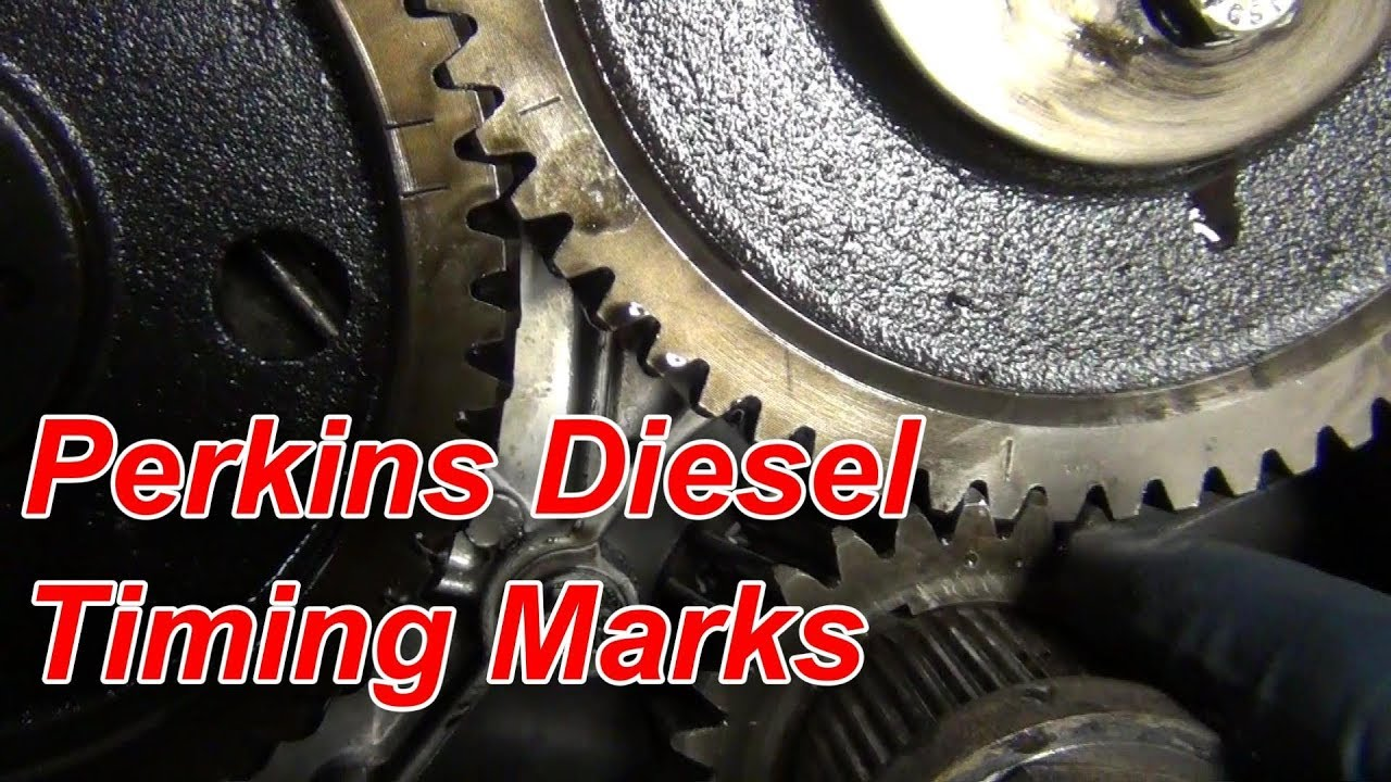 perkins diesel engine timing marks in full hd [ 1280 x 720 Pixel ]