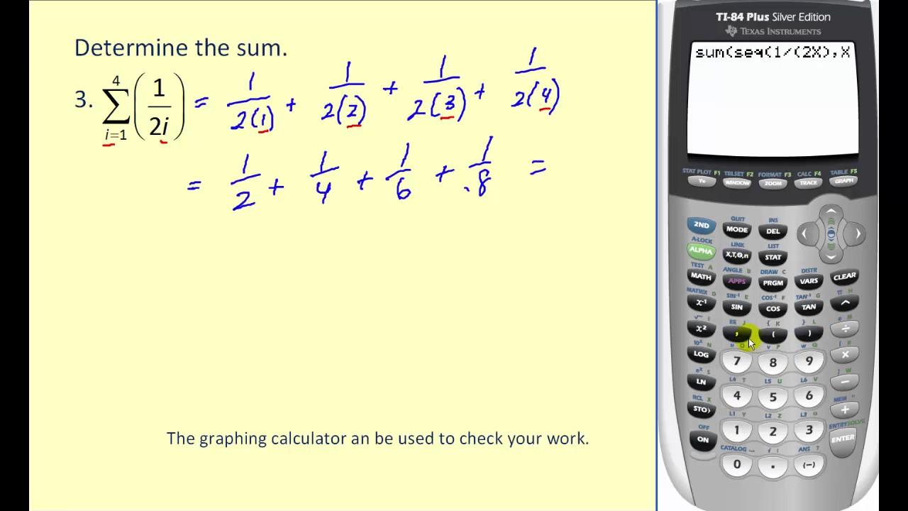 Sigma notation the math shack.