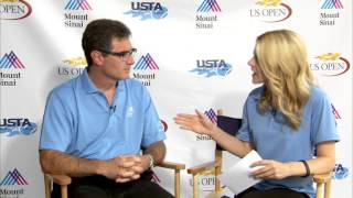 Dr. James Gladstone Discusses Common Tennis Injuries at the US Open