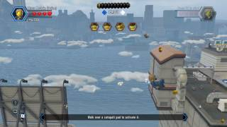 LEGO City Undercover The Rooftops Speedrun 3min 25sce