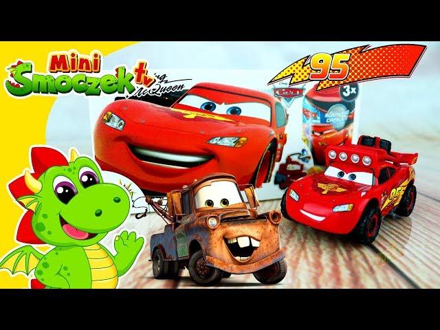 Auta Cars 3 - Jajka Niespodzianki i Zygzak McQueen | Super Zabawki Bajki Dla Dzieci Po Polsku