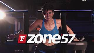 Mandira Bedi @ ZONE'57 | FIIT Workout