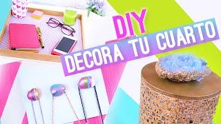 DIY DECORAR TU CUARTO o HABITACION (IDEAS FÁCILES) ♥ Jimena Aguilar (Colab. Nancy Loaiza)