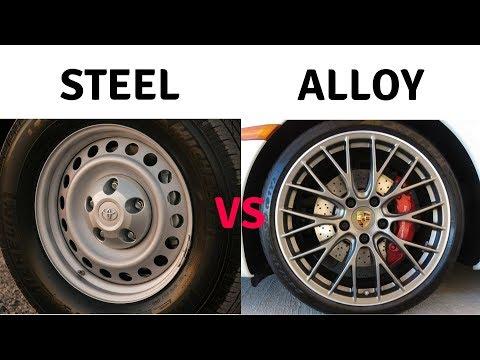 Steel Wheels vs Alloy Wheels