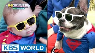 William takes a look alike picture with the dogs [The Return of Superman / 2017.05.07]