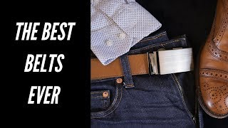 Anson Belts - Why I Got Rid of Everything Else