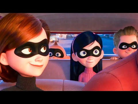 INCREDIBLES 2 All Movie Clips + Trailer...