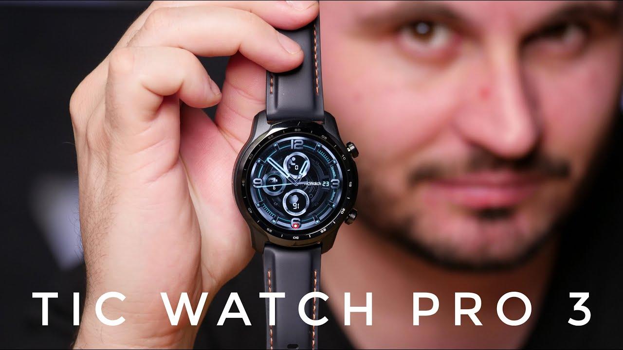 TicWatch Pro3 - Smartwatch-ul cu 2 ecrane