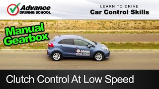 Clutch Control At Low Speed  |  Learn to drive: Car control skills