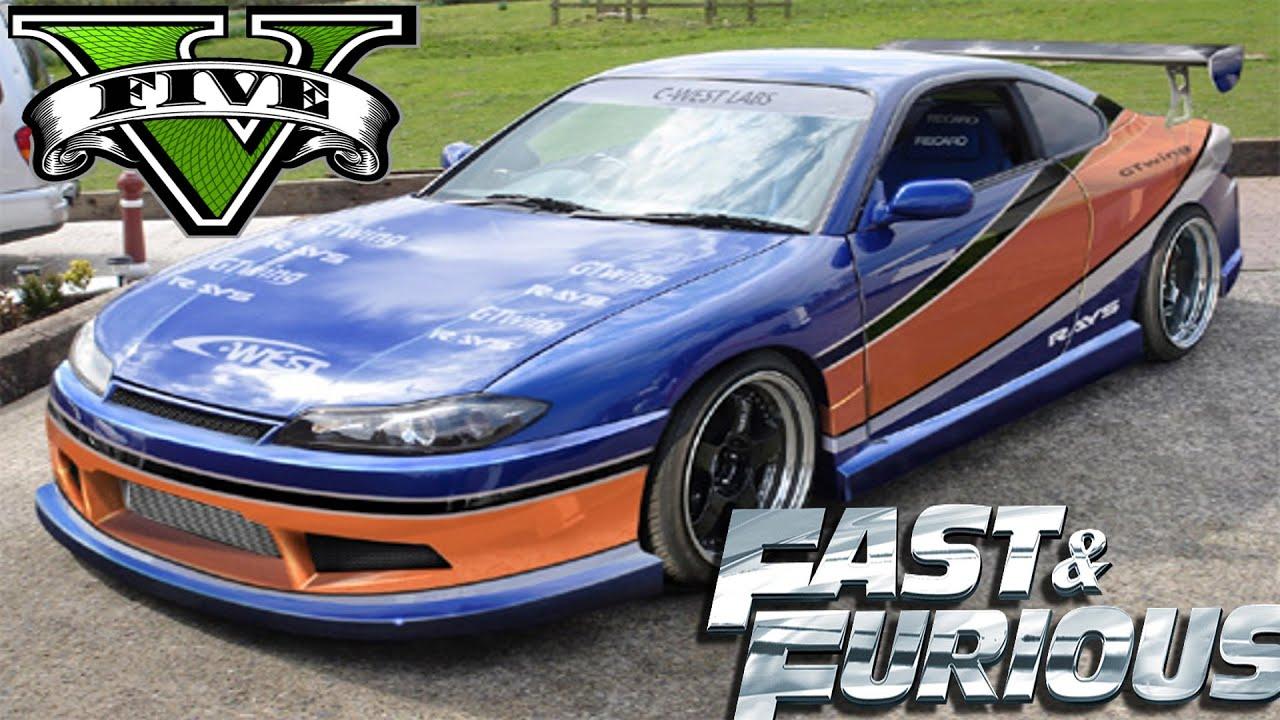 Fast And Furious Tokyo Drift Nissan Silvia Mona Lisa Gta