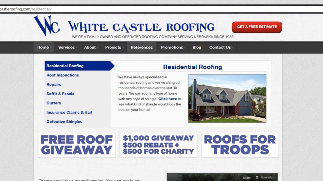 Elegant Best Roofing Company Omaha, NE   White Castle Roofing References