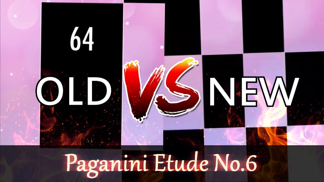 fast delivery factory outlet new images of Video - MOST RESTLESS LEGENDARY SONG! - Paganini Etude No.6 ...