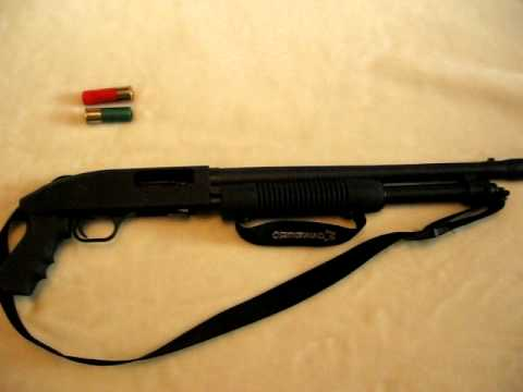 mossberg pistol grip shotgun youtube