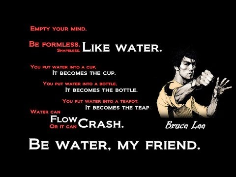 Bruce Lee - Be like water (Inspirational, Motivation Video ...