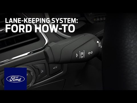 Lane-Keeping System | Ford How-To | Ford