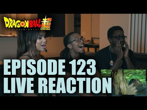 Dragonball Super EP 123 LIVE Reaction!