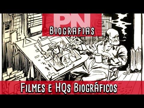 Filmes e Quadrinhos Biográficos   Pipoca e Nanquim #184