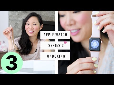 Apple Watch Series 3 UNBOXING ♥ Gold!
