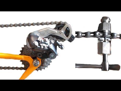 Длина цепи, как определить длину цепи, снять и натянуть цепь на велосипеде.