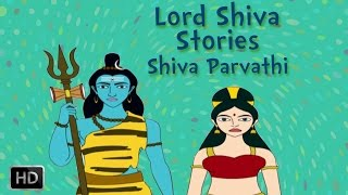 Lord Shiva and Parvati Stories - Marriage Of Shiva - Animated Mythological Story
