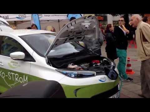 Renault ZOE Elektroauto, Renault ZOE Electric car.