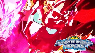 Watch SD Gundam World Heroes Anime Trailer/PV Online
