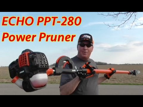 225 45 15 >> ECHO PPT-280 Telescoping Pole Saw Power Pruner - YouTube