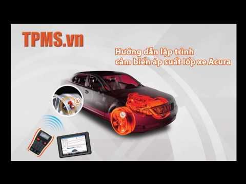 Hướng dẫn chi tiết lập trình cảm biến áp suất lốp xe Acura