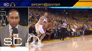 Stephen A praises Klay Thompson after Game 6 He was everything tonight  SC with SVP  ESPN