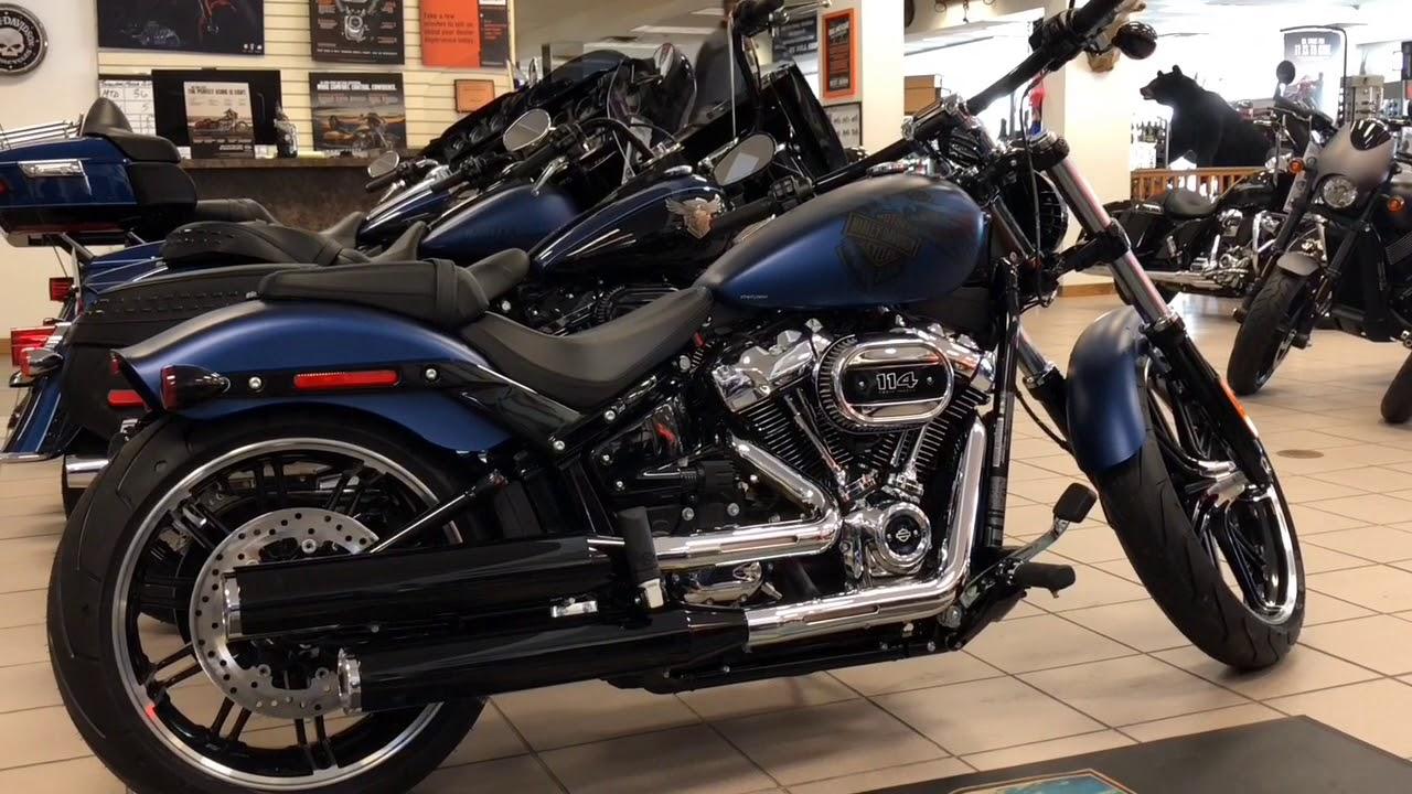 Harley Davidson Breakout For Sale >> 2018 Harley Davidson 115th Anniversary Edition Breakout 114 For Sale in Portland Maine - YouTube