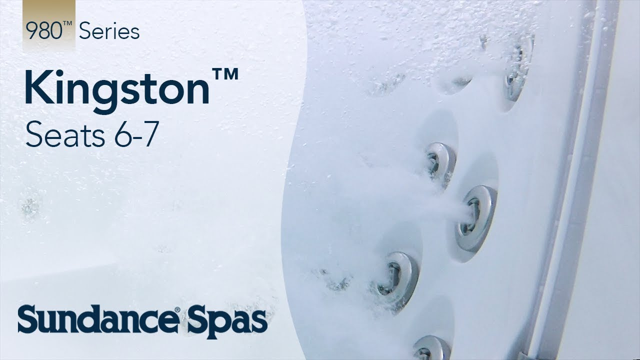 Kingston™ Hot Tubs: 980™ Series Spa (seats up to 7) - YouTube